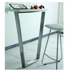 table de cuisine sur mesure pieds de table design msa pour votre cuisine moderne sur mesure