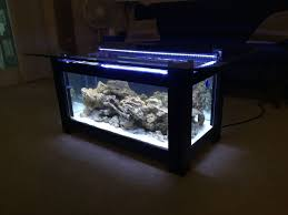 coffee table aquarium coffee tables square coffee table aquarium with puple neon