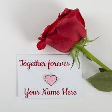 romantic love letter for girlfriend with your name