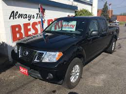 nissan frontier xe v6 crew cab used nissan frontier for sale mississauga on cargurus
