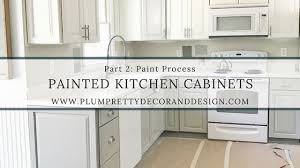 painting kitchen cabinets process plum pretty decor design co painted kitchen cabinets