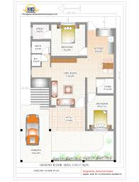 home plans india of 2000 sq ft home plan
