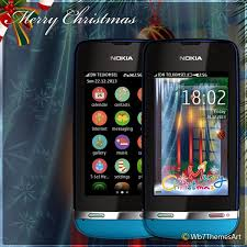 themes nokia asha 308 download merry christmas theme asha full touch asha 305 theme asha 306