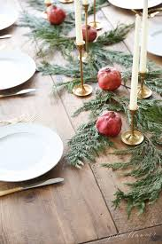 make christmas table runner decorate the tables with these 50 diy christmas centerpieces
