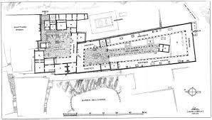 Public Building Floor Plans Building Sarapis Sanctuary C Ca 166 69 Bce