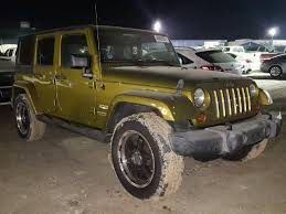 2007 green jeep wrangler 1j8ga59147l217072 2007 green jeep wrangler on sale in tx