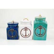 kitchen canisters blue blue kitchen canisters jars you ll wayfair