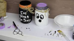 Mason Jar Halloween Endless Halloween Mason Jar Crafts With Black And White Paint