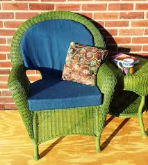 elegant outdoor wicker chair cushions design ideas and decor