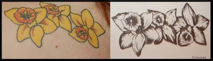 daffodil tattoo by mwacha on deviantart