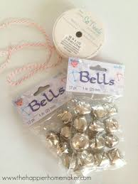 diy jingle bell ornament the happier homemaker