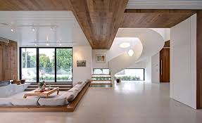cool home interior designs mansions interior oceanfront home with contemporary glass spiral