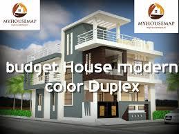budget house modern color duplex 30 50