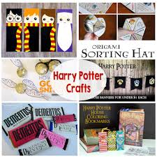halloween printable bookmarks harry potter crafts the crafting