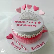 cake birthday princess cake with name