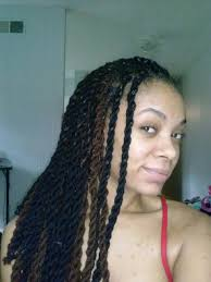 hairstyles for yarn braids protective styling challenge ii update two tone chunky yarn