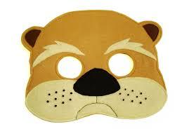 children u0027s woodland animal otter felt mask magical attic