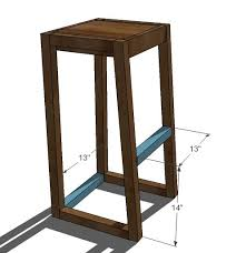 Build A Cheap End Table by Best 25 Bar Height Table Diy Ideas On Pinterest Bar Height