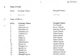 names of towns villages lake and rivers within madc are hereby