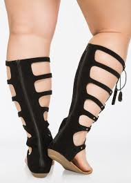 wide width shoes lace up gladiator sandals wide width