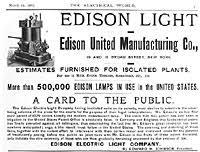 edison s companies the edison papers