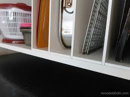 how to trim cabinet above refrigerator remodelaholic ikea hack diy the fridge cabinet