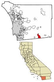 California Map With Cities Campo California Wikipedia