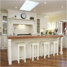 Best Flooring For Kitchen by Wooden Kitchen Flooring Ideas White Wooden Floating Shelves