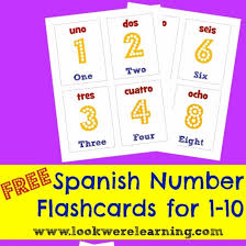 free printable number flashcards 1 20 spanish number flashcards 1 10 look we re learning