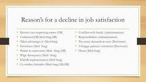Er Nurse Responsibilities Job Satisfaction Within The Nursing Profession By Kelly Deeney