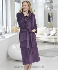 robe de chambre damart sortie amethyste robe de chambre damart maille moelleuse femme