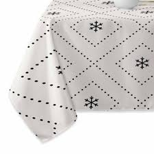 bed bath and beyond christmas table linens buy christmas tablecloths table linens from bed bath beyond