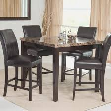 Leather Dining Room Chairs Design Ideas Dining Room View Leather Dining Room Sets Home Design Awesome