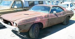 1973 dodge challenger parts junkyard cars cars barn finds rods and