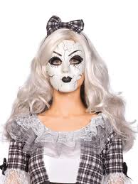 porcelain doll mask a2757 fancy dress ball
