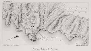 Asia Minor Map by Map Of The Ruins Of The Ancient City Parium Asia Minor