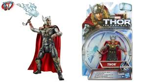 thor the dark world lightning bolt hammer figure toy review hasbro