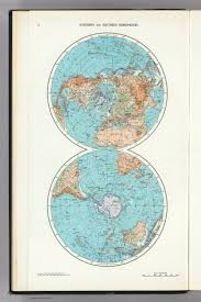 World Map With Hemispheres by 3 Northern And Southern Hemispheres The World Atlas David