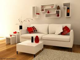 red leather living room set round white leather ottoman lcd tv
