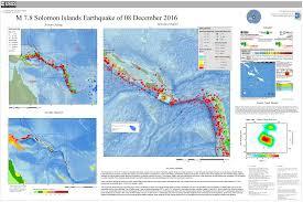 Solomon Islands Map M 7 8 69km Wsw Of Kirakira Solomon Islands