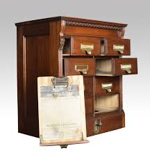 eight draw walnut shannon filing cabinet at 1stdibs
