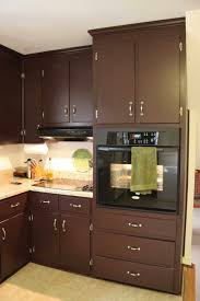 kitchen kitchen colors with brown cabinets wainscoting