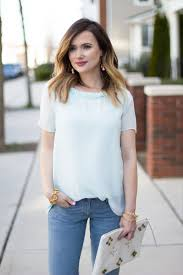 a casual spring look with banana republic kiss me darling