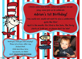 design free dr seuss birthday party invitations with gray