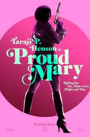 proud mary 2018 original 27x40 advance movie poster taraji p