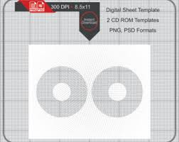 cd template etsy