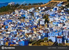 chefchouan chefchaouen the blue city morocco u2014 stock photo irina skr