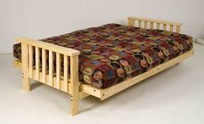 solid wood futon frame westfield wood futon set frame 8 mattress black full