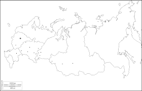 outline map of russia with cities russia free map free blank map free outline map free base map