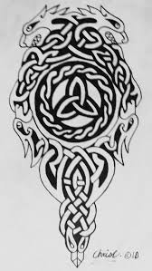 celtic wolf tattoos meaning